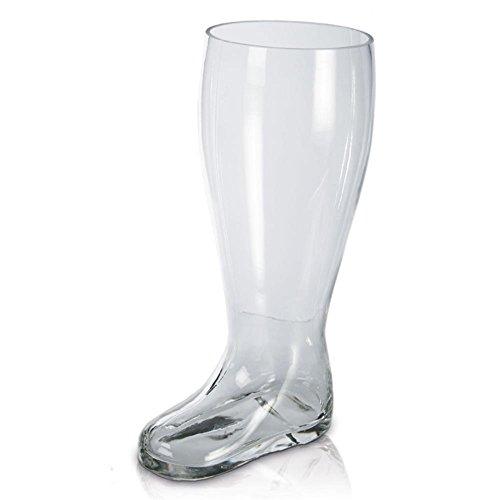 Bierglas XXL Glas Weißbierglas Stiefelform ca. 2 Liter