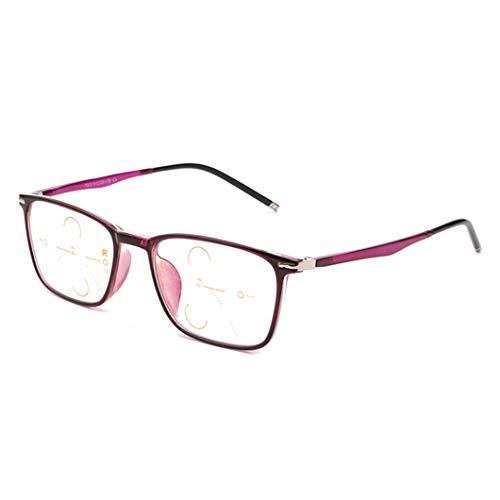 SYTH Frauen/Männer Lesebrille, Fern und Nah, Blaulicht-Schutzbrille für Computerspiele | UV-Blocker