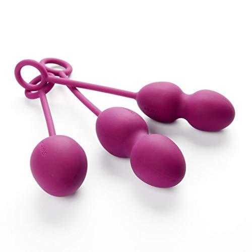 LQZYTY Private Übung der Frauen, um die Hantel Postpartum anzuspannen, um Erwachsene Spaß-Gesundheitspflege-Produkte zu reparieren T -Shirt Konfiguration (Color : Purple) -