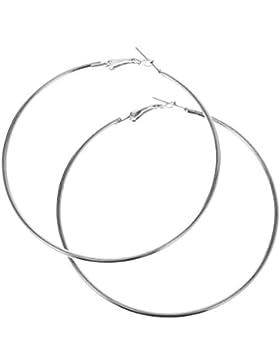 MagiDeal Damen Creolen Ohrringe Leverback Modische Ohrringe - Schmuck Zubehör