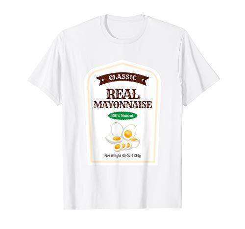 Original Kostüm Für Paare - Mayonnaise Familie Sauce Kostüm Original Halloween