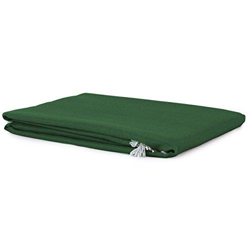 Tenda da sole con anelli 290x290 cm per esterno art. vulcano m890 verde