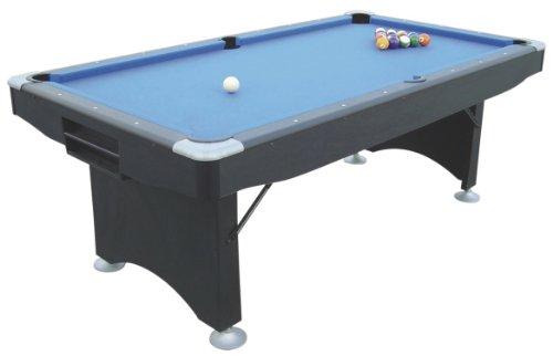 Pool Billardtisch Challenger 6ft klappbar schwarz Spielfläche