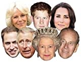 Royal Family Masks (full set of 7)P