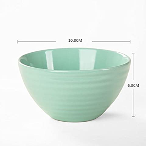 Watermark wave,ceramic small rice bowls/[surface]/small plates-G