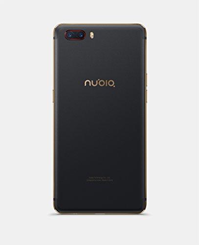 Nubia nx551j M2  Smartphone  64GB Memoria  4  GB de RAM  c  mara de 13  MP  Android 6 0  13 9  cm  5 5  pulgadas    color negro oro