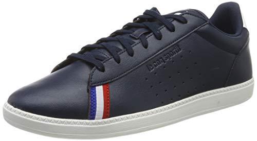 le coq Sportif Herren COURTSTAR Sport Dress Blue/Optical White Sneaker, Blau, 43 EU