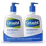 Cetaphil Gentle Skin Cleanser, Non-comedogenic (20 Fl Oz X 2 Pack)