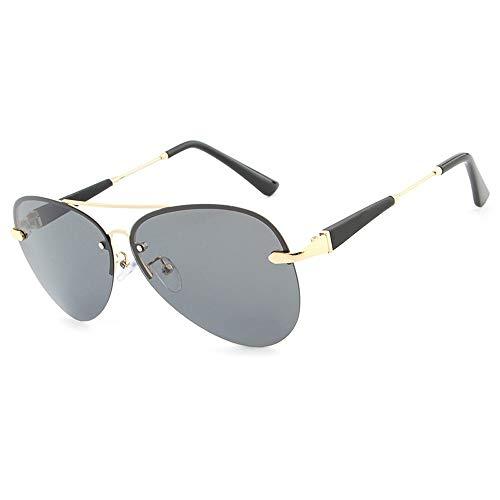 Herren Sonnenbrillen Brille Mode Männer Polarisierte Fahren Sonnenbrille Farbfilm Klassische Sonnenbrille LTJHJD (Color : 03Schwarz, Size : Kostenlos)