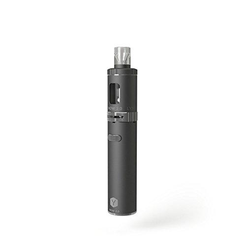 LYNDEN® NOW 2.0 E Zigarette Starterset | Topfill | 15W - 25W | 2ml Tank | e Shisha Starterset | Elektronische Zigarette (Silber)