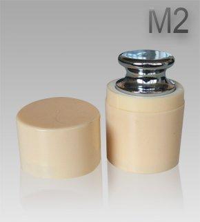 G&G M2 Eisen 100g Kalibriergewicht Prüfgewicht inkl. Schutzhülse / Kalibriergewicht für Digitalwaage von Waagen 100g