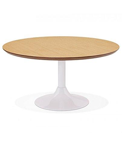 Générique Table Basse Design Bella Natural 90x90x45 cm