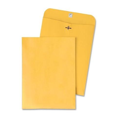 Clasp Envelope, 9 1/4 x 14 1/2, 28lb, Light Brown,