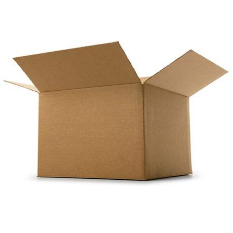 Lot de 100 boîtes d'emballage Boxed-UP Carton à simple paroi - 20,3 x 15,2 x 15,2 cm (200 x 150 x 150 mm)