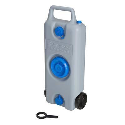 Preisvergleich Produktbild Carysan Aquamobil Inhalt 35 l,  Transport Frischwasser oder Abwasser,  grau / blau,  CKW