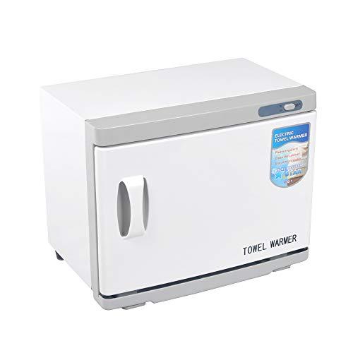 HeavenBird Handtuchwärmer Kompressenwärmer UV-Licht Sterilisator Hot Cabby Cabinet,Gebrauch für SPA, Hair Beauty, Salon und Home, 23L High Capacity, 30-50 Handtücher (23L)