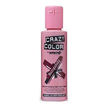 Crazy Color Coloration Semi-Permanente Couleur Vibrante 100ml (Burgundy - Rouge Bordeau) - Pack de 2