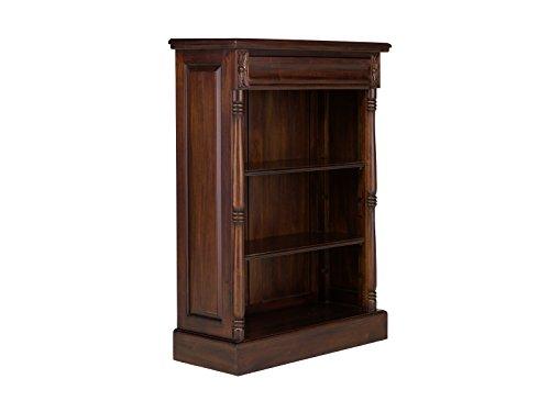 massivum Bücherregal Cambridge, Holz, kolonial/walnuss, 36 x 85 x 120 cm