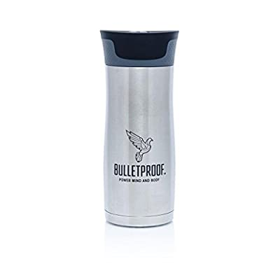 Bulletproof Coffee Autoseal Stainless Steel BPA Free 16oz Travel Mug by Bulletproof by Bulletproof
