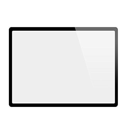 GGS LCD Displayschutz Glas für Sony Alpha 7 II (die vierte G) - LCD-Echtglas-Protektor für Sony Alpha 7 II - 6-Schicht-Prinzip plus Schutzrahmen -