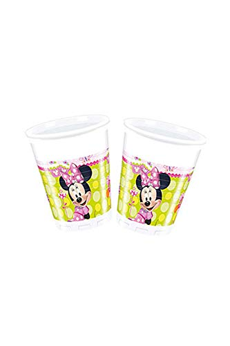 Amscan Minnie Bow-Tique Kunststoff Cups Party Zubehör (Mouse-kunststoff-cups Minnie)
