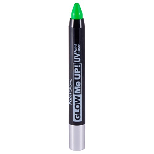 Smiffy's SM46141 - Liner UV Glow Me Up 2 - 5 g Vert - Taille Unique