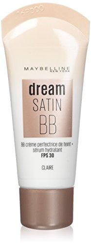Maybelline New York Dream Satin BB Crème Perfectrice de Teint FPS30 Claire 30 ml