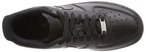 Nike Wmns Air Force 1 '07, Chaussures de Sport Femme Noir