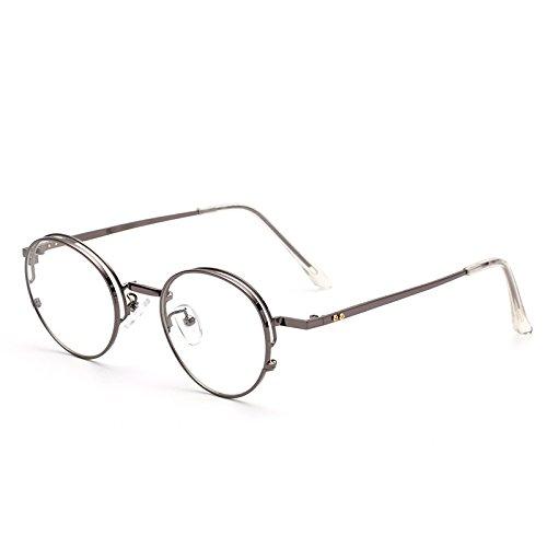 GCR Sunglasses Polarized light Shade glasses Nouvelles lunettes métal rétro v-box pour les hommes et les femmes lunettes , a