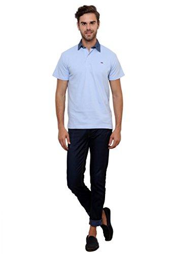Lemon-And-Vodka-Mens-Polo-Tshirt-with-Denim-Collar-LNV-DNMCLR-LBLUEBlue