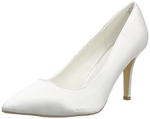 Menbur Wedding Agueda, Damen Pumps, Elfenbein (Ivory), 38 EU