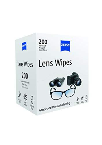 Zeiss - Toallitas para lentes, paquete de 200