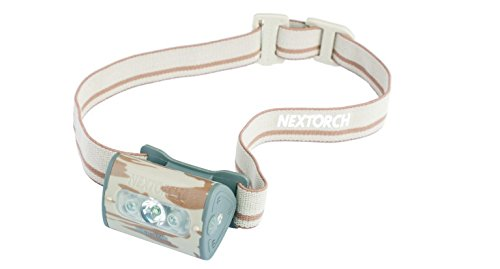 Nextorch 140 lumens 3AAA (Star Trek-Lampe Frontale LED-Blanc/Rouge/Motif Camouflage