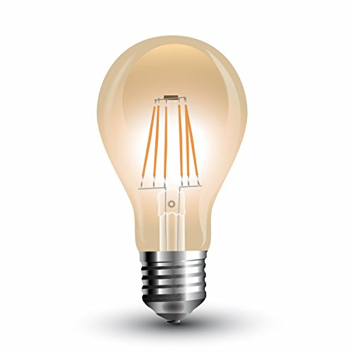 Lampada LED Globo Filamento Gold Cover A60E272200K 4W 300°