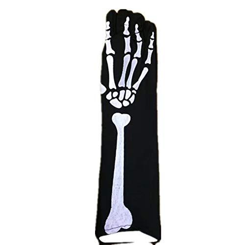 GUANGBO Halloween Handschuhe Weiß Taro Handschuhe Kostüm Party Performance Party Play Charakter Handschuhe
