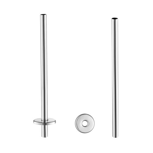 ibathuk-2-x-designer-chrome-brass-towel-rail-radiator-pipe-cover-sleeves-ra03