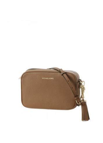 d02f7d145d3de Michael Kors Leather Mujer Cross Body Bag Tostado