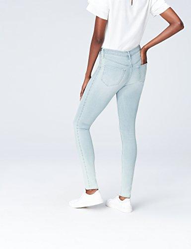 FIND Damen Jeans Blue Jegging Blau (Light Blue)