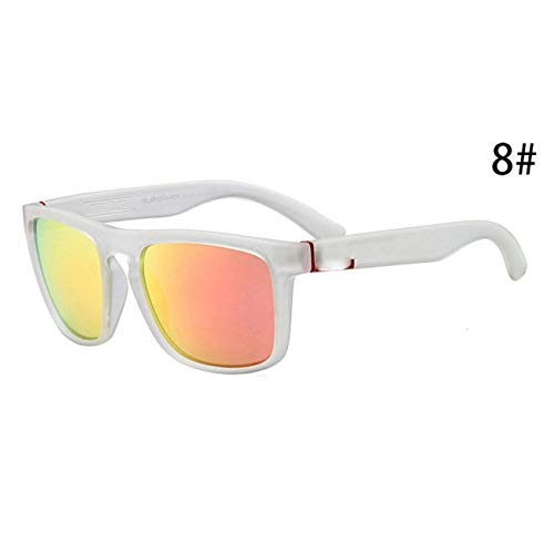 Jeewly Klassische Sportsonnenbrille, Square Sunglasses Men's Male Sunglases Cheap OAK Quicksilvered Gunes Gozluk