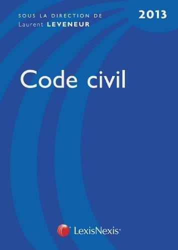 Code civil 2013