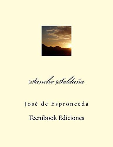 Sancho Saldaña por José de Espronceda