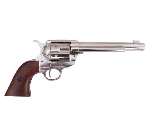 denix-replique-cavalerie-colt-nickel-single-action-1873-usa-35-cm