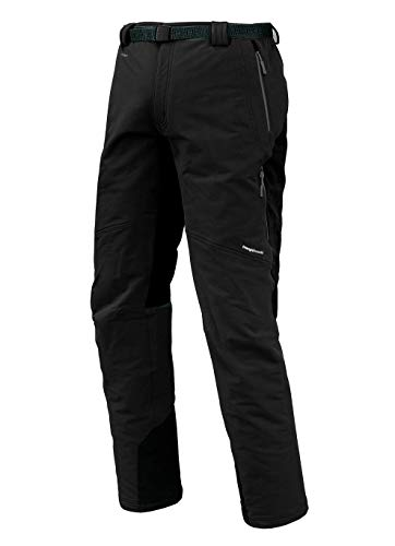 Trangoworld pc007744 – 614-xlc Pantalon Long, Homme, Noir, XL