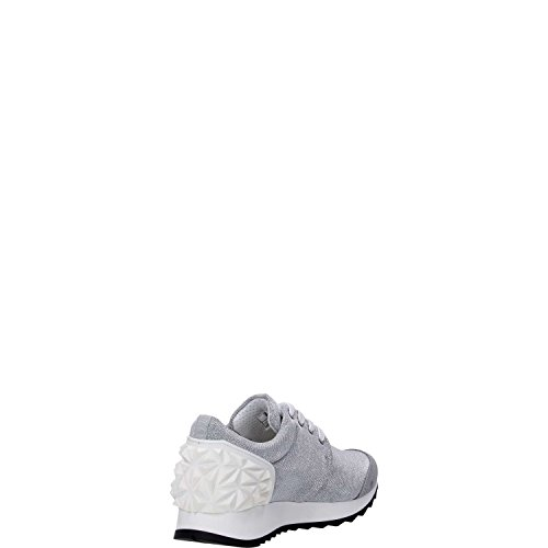 Cult CLE102593 Sneakers Femme Argent / Blanc
