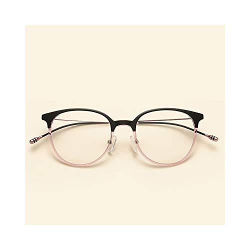 KERVINFENDRIYUN YY4 Unisex Retro Brillengestell, Ultraleicht, Full Frame (Farbe : Rosa)