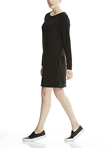 Bench Void Dress, Robe Femme Schwarz (Black BK022)