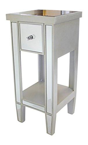 Möbel Konsole Schränke (Holz Kommode mit Spiegeln und Schublade)