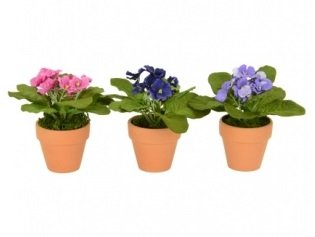 artificial-violet-potted-set-of-three-assorted-colours-as-shown