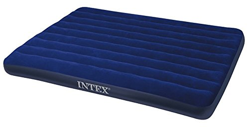 Intex Classic Downy Bed - Colchón hinchable, 152 x 203 x 22 cm