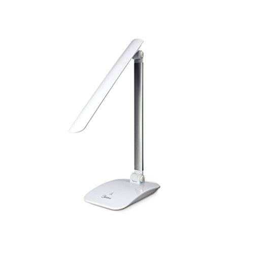 LED-Augenschutz-Lampe, Lern-Schreibtisch-Stecker in den Grundschülern Vision-Schutzbrillen schreiben Hausaufgaben-Tischlampe ( Farbe : Weiß )
